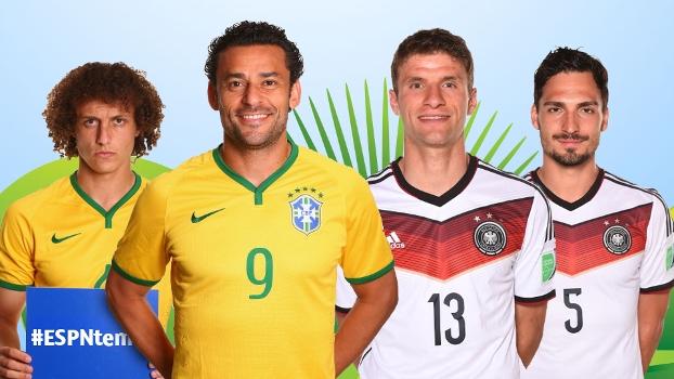 Brasil ou Alemanha? 'Linha de Passe' palpita qual será o placar