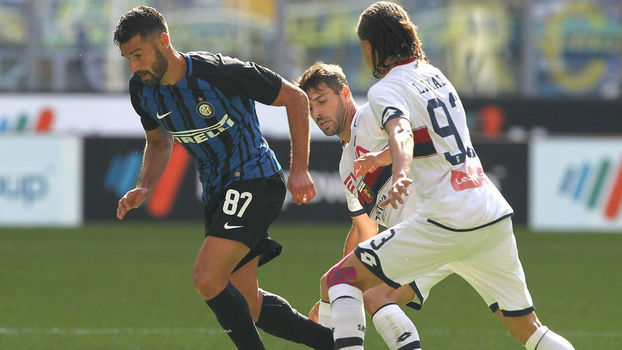 Campeonato Italiano: Gol de Inter de Milão 1 x 0 Genoa