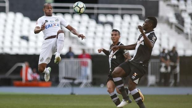 Brasileiro: Lances de Vasco 0 x 0 Santos
