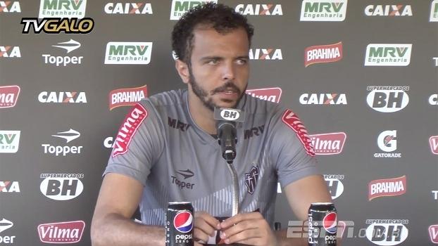 Giovanni será titular do Atlético-MG enquanto Victor está lesionado: 'Vou trabalhar o mais forte possível'