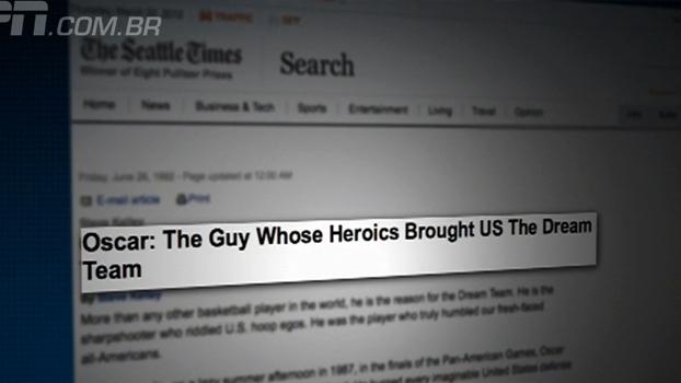 'Oscar, o cara que, com seus atos heróicos, formou o Dream Team': como a vitória no Pan-87 mudou o b