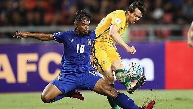 Assista aos gols do empate entre Tailândia e Austrália por 2 a 2!