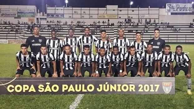 Copa São Paulo: Gols de Botafogo 4 x 1 Sergipe