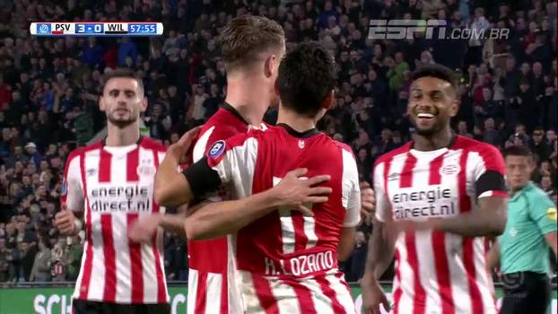 PSV Eindhoven goleia Willem, soma 9 pontos em 3 jogos e lidera na Holanda