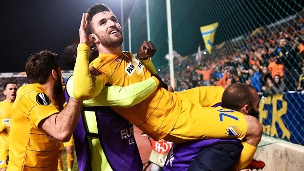 APOEL faz 2 a 0 no Bilbao e vai às oitavas da Europa League