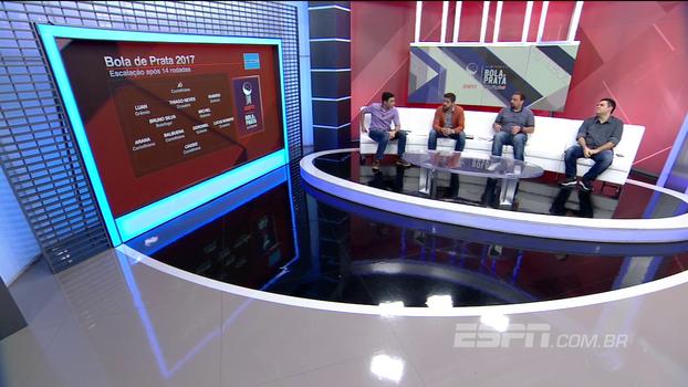 ESPN Bola de Prata Sportingbet: Veja escalação após 14 rodadas
