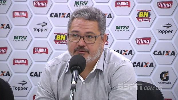 Micale explica substituições feitas no jogo do Atlético-MG contra o Vitória