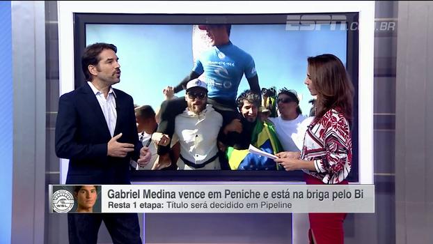 Tiago Brant explica do que Medina precisa para ser bi campeão mundial de surfe