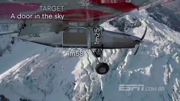 É ver para crer! Paraquedistas franceses fazem maluquice e entram em avião enquanto atingem velocidade de 140 km/h