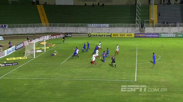 Confira os gols de Boa Esporte 2 x 1 Paraná Clube