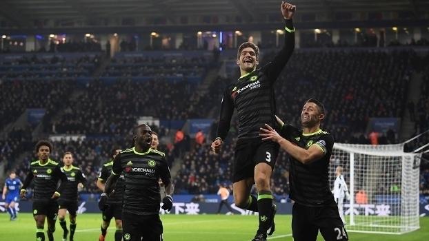 Assista aos gols da vitória do Chelsea sobre Leicester por 3 a 0