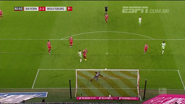 Tempo real: GOL DO WOLFSBURG: Sozinho na área, Didavi empata o jogo na Allianz Arena