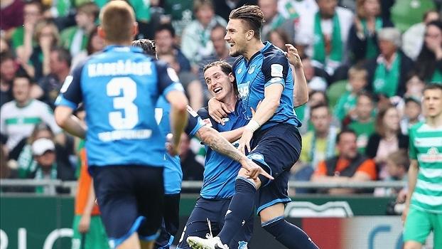 Kramaric faz dois e Hoffenheim vence o Werder Bremen fora de casa por 5 a 3