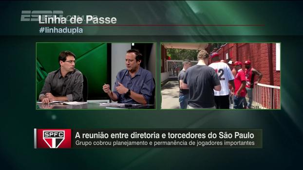 Gian discorda de Arnaldo sobre reunião entre torcedores e diretoria do São Paulo: 'Necessário certamente não é'