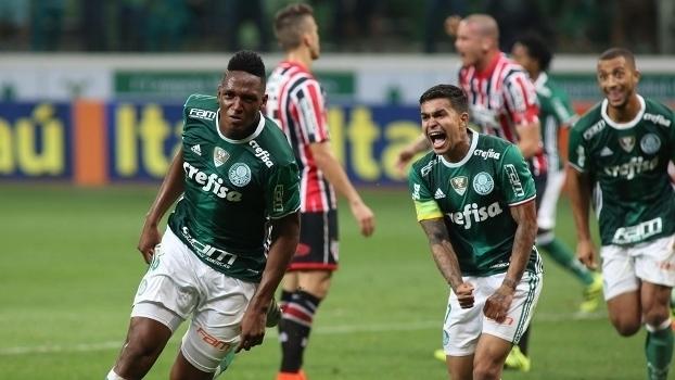 Brasileiro: Gols de Palmeiras 2 x 1 São Paulo