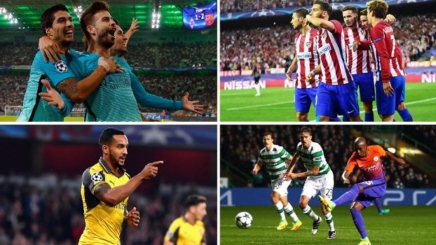 0cfbd9e69 Veja os resultados dos jogos da rodada de 4ª-feira da Champions League