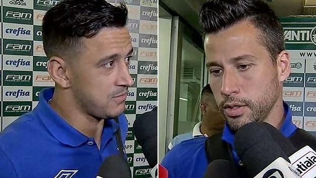 Robinho vê gols palmeirenses 'na raça' e vê Cruzeiro crescendo; Fábio exalta qualidades do Palmeiras