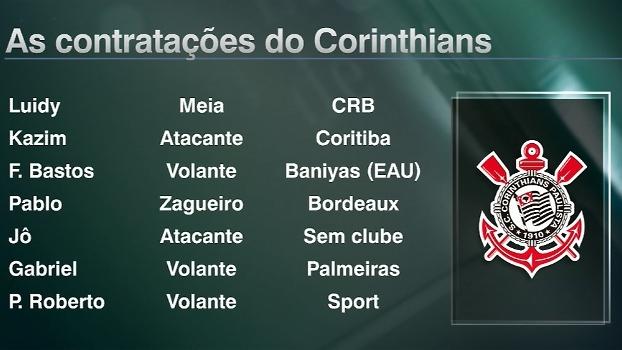Veja as contratações de Corinthians, Palmeiras, Santos e São Paulo para 2017