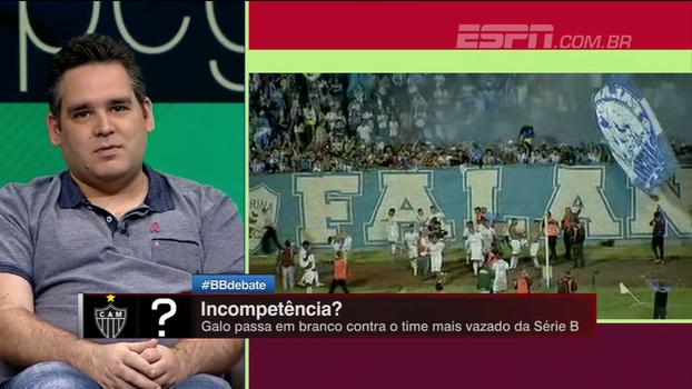 Bertozzi destaca falta de poder ofensivo do Atlético-MG em jogos decisivos: 'Não merece levantar troféu'