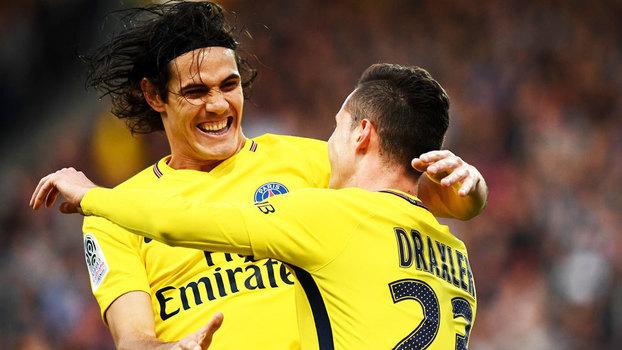 Francês: Gols de Angers 0 x 5 PSG