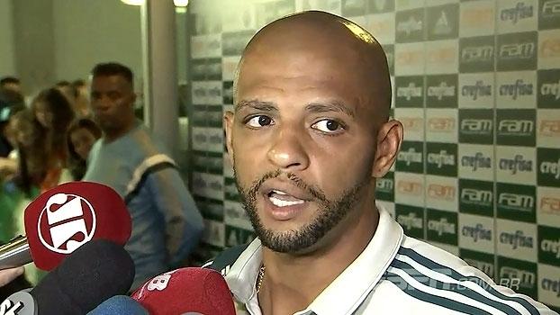 Felipe Melo pede para Palmeiras 'mudar a chave': 'Libertadores é obsessão'