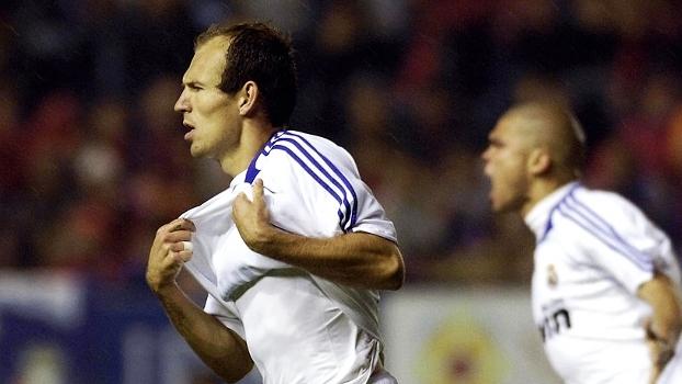 Com gol de Robben, Real buscou virada contra o Osasuna e foi campeão da LaLiga 2007/08