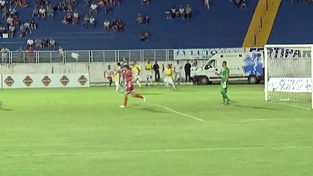 Veja o gol que Bruno levou em sua reestreia como jogador de futebol