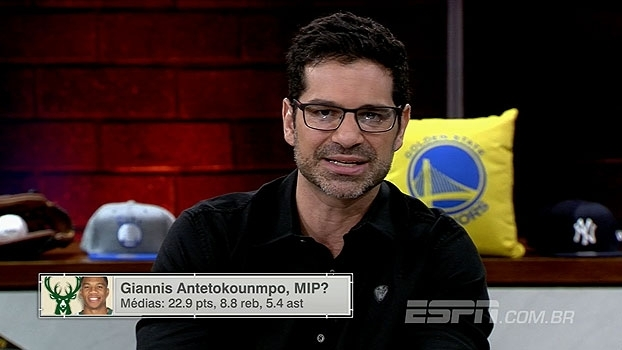 MIP? ESPN League analisa evoluções de Giannis Antetokounmpo e Rudy Gobert