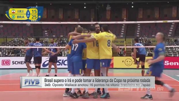 Copa dos Campeões: Lances de Brasil 3 x 0 Irã