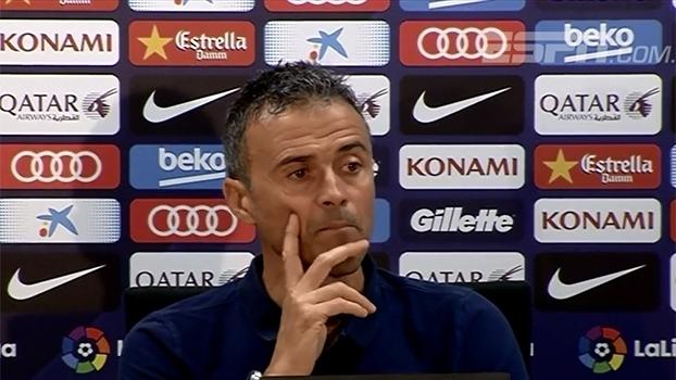 Luis Enrique sobre partida contra o Granada: 'Vamos tentar controlar o máximo possível a bola'