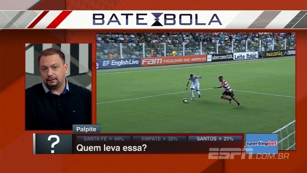 Quem leva essa? BB Debate analisa jogo entre Santa Fe e Santos