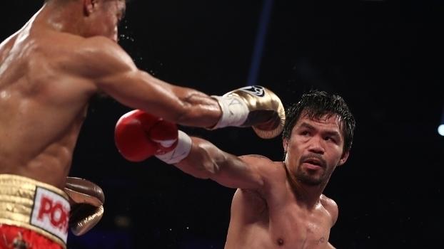Boxe: Por decisão unânime, Manny Pacquiao vence Jessie Vargas