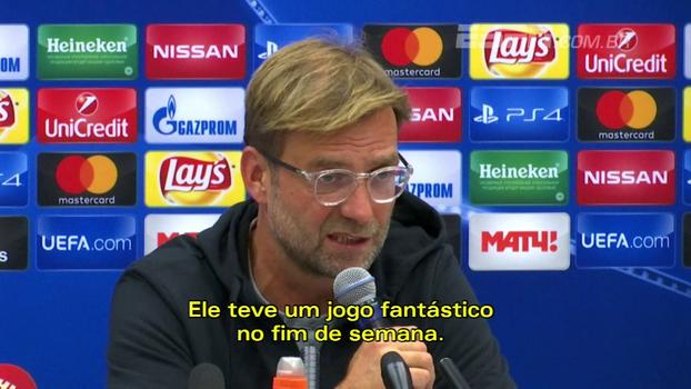 'O Coutinho voltou à forma, e isso é importante', diz Klopp; Carrera pede 'partida perfeita' do Spartak