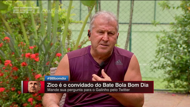 Zico vê possível queda de Coutinho em caso de ida ao Barcelona