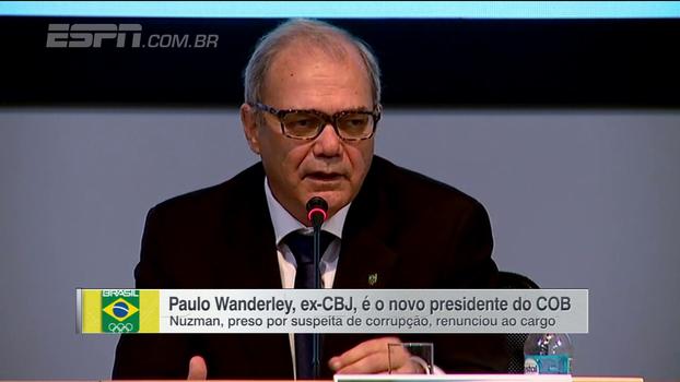 Paulo Wanderley assume a chefia do COB após renúncia de Nuzman, e comissão é criada para elaborar novo estatuto