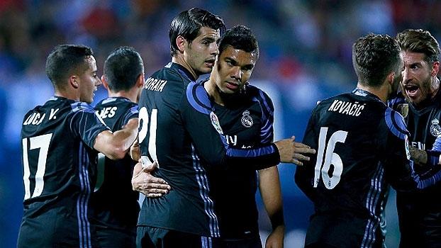 LaLiga: Gols de Leganès 2 x 4 Real Madrid