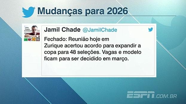 Entenda como vão funcionar as mudanças no formato da Copa do Mundo