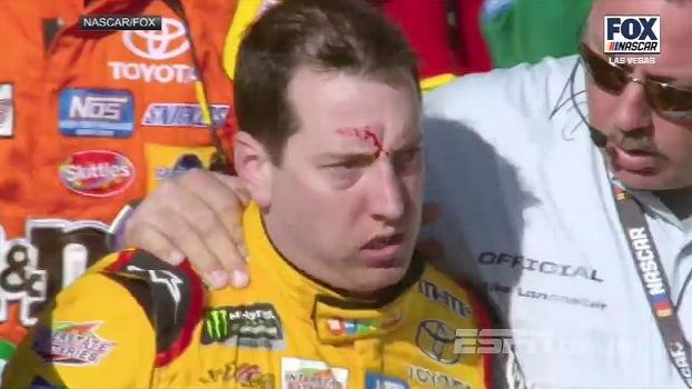 Teve até sangue! Piloto sai na mão com equipe de adversário após incidente durante corrida da Nascar