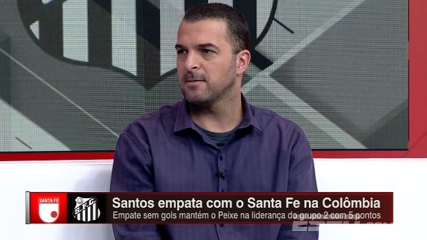Zé Elias diz que Santos se negou a jogar e afirma: 'Perdeu a chance de levar 3 pontos'