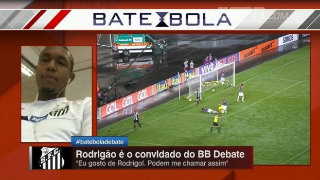 Em busca do prêmio de artilheiro do ano, Rodrigão quer 'mais uns 15 gols' pelo Santos em 2016
