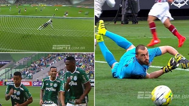 Defesas incríveis, 'gingado' do Palmeiras e muito mais no Top 10 do Brasileiro