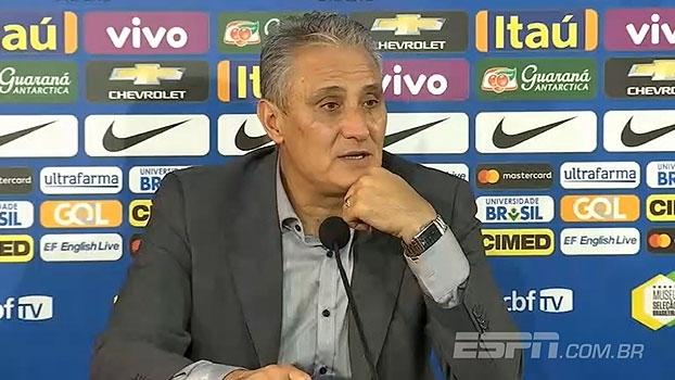 Tite promete convocar outro lateral para o lugar do suspenso Daniel Alves: 'Queremos força máxima'