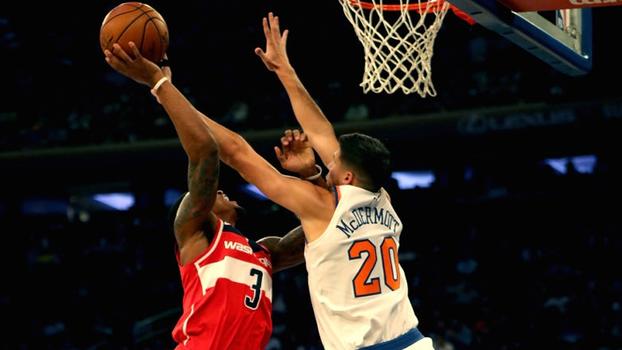 Em duelo equilibrado entre Beal e Hardaway Jr, Wizards vencem Knicks na pré-temporada da NBA