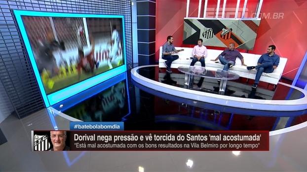 'Esperava bem mais do Santos', analisa Marra após empate