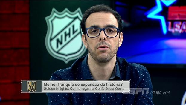 15 vitórias em 23 jogos: Thiago Simões analisa primeira temporada do Vegas Golden Knights na NHL