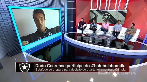 Para Dudu Cearense, Botafogo estará em outro patamar se avançar na Libertadores