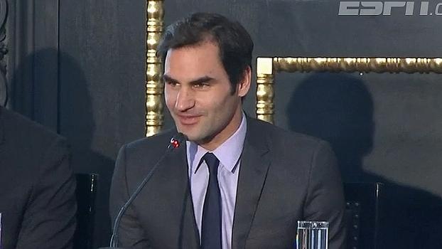 Disputada pela primeira vez, Roger Federer fala sobre a estreia da Copa Laver