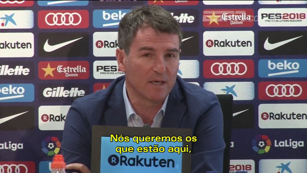 Secretário técnico do Barcelona desconversa saída de Neymar e Bertozzi diz que essa especulação 'é coisa pra vender jornal'