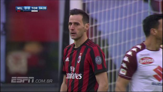 Em casa, Milan não sai do zero contra o Torino e estaciona na tabela do Italiano