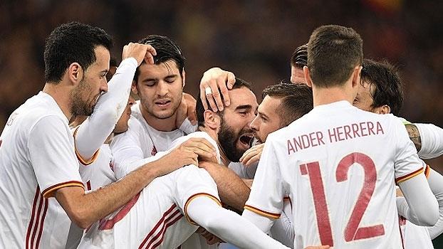 Assista aos lances da vitória da Espanha sobre a França por 2 a 0!